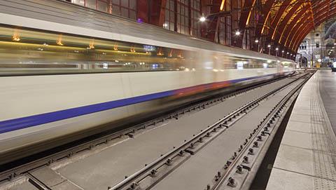 railway - slab track